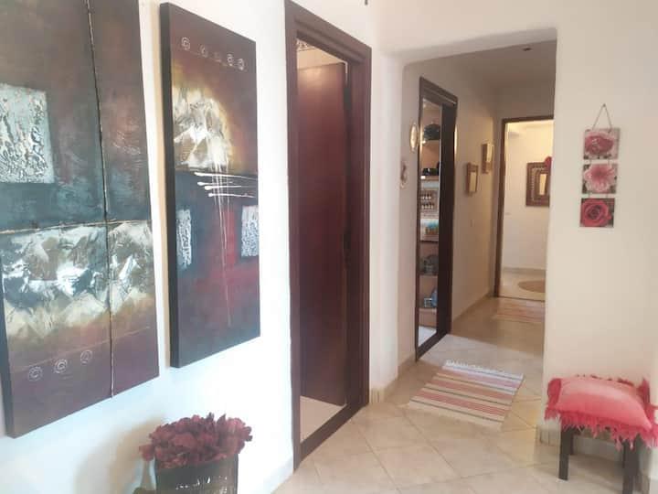 Spendide appartement plage privé CABONEGRO